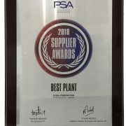 PSA 2018 supplier award